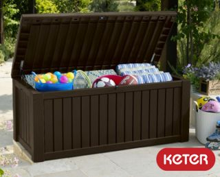 Keter Rockwood 570L Garden Storage Box