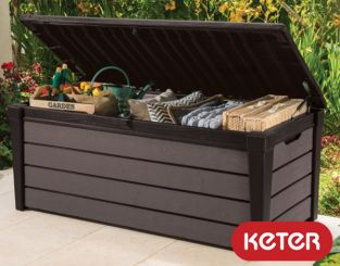 Keter Brushwood Garden 455L Storage Box