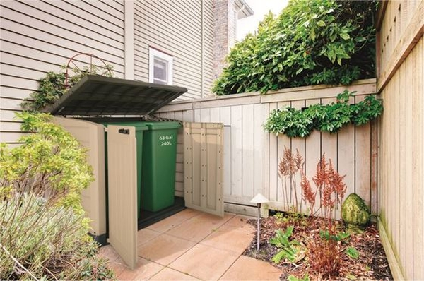 Keter Hideaway 1200l Storage Shed And Bin Store 163 229 00
