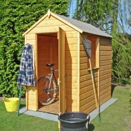 Overlap Apex Pressure Treated Shed 6 x 4ft (183 x 122cm)