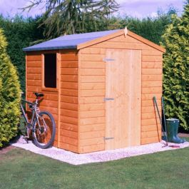 Apex Shed Single Door 7 x 5ft (213 x 152cm)