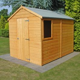 Apex Shiplap Shed Single 8 x 6ft (244 x 183cm)