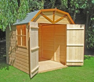 Barn Apex Shiplap Shed 7 x 7ft (213 x 213cm)
