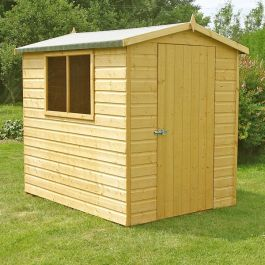 Hi Spec Apex Shiplap Shed 7 x 5ft (213 x 152cm)