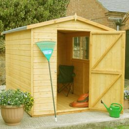 Hi Spec Apex Shiplap Shed 8 x 6ft (244 x 183cm)