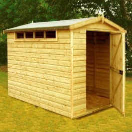 Security Apex Shed 8 x 6ft (244 x 183cm)