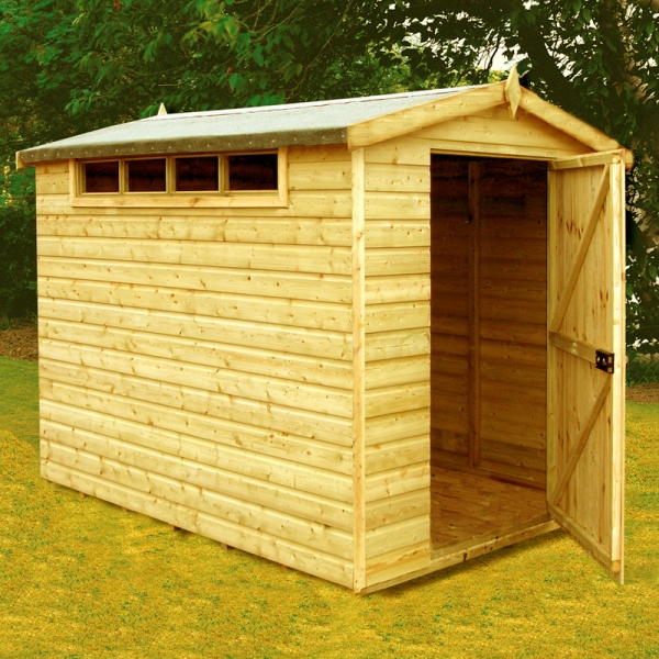 Security Apex Shed 10 x 8ft (305 x 244cm)