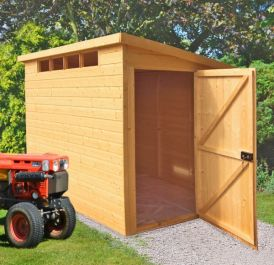 Security Pent Shed 8 x 6ft (244 x 183cm)
