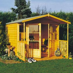 Milton Summerhouse inc Veranda 8 x 9