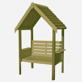 Blossom Arbour with Seat 7ft x 4ft (213cmx121cm)