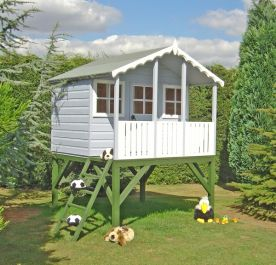 Stork Playhouse with Platform 6 x 4ft (183 x 122cm)