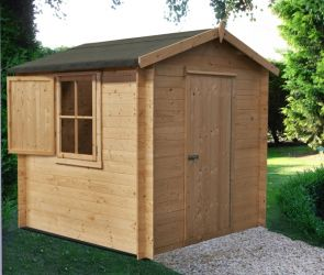 Camelot Log Cabin 7 x 7ft (213 x 213cm)
