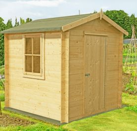 Danbury Log Cabin 9 x 9ft (269 x 269cm)