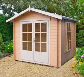 Barnsdale Log Cabin 8 x 8 ft (244 x 244cm)