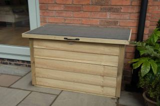 Garden Storage Box L108cm x W55cm - Pressure Treated