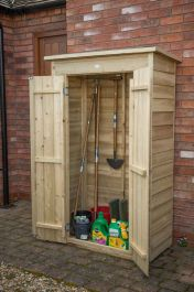 Pent Tall Garden Store H178cm x W108cm - Pressure Treated