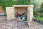 Pent Large Outdoor Store H145cm x W193cm - Pressure Treated