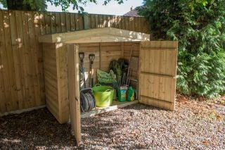 Apex Large Outdoor Store H145cm x W193cm - Pressure Treated