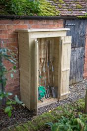Shiplap Pent Tall Garden Store H178cm x W108cm - Pressure Treated