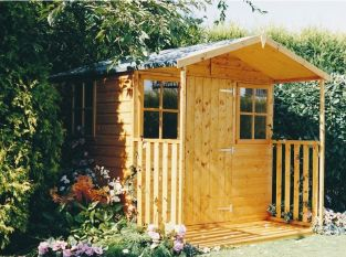 Casita Shed inc Veranda 7 x 9