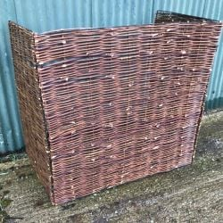 Willow Double Wheelie Bin Screen - 115cm