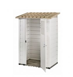 Tuscany Evo 100 PVC Box Shed 6ft x 4ft