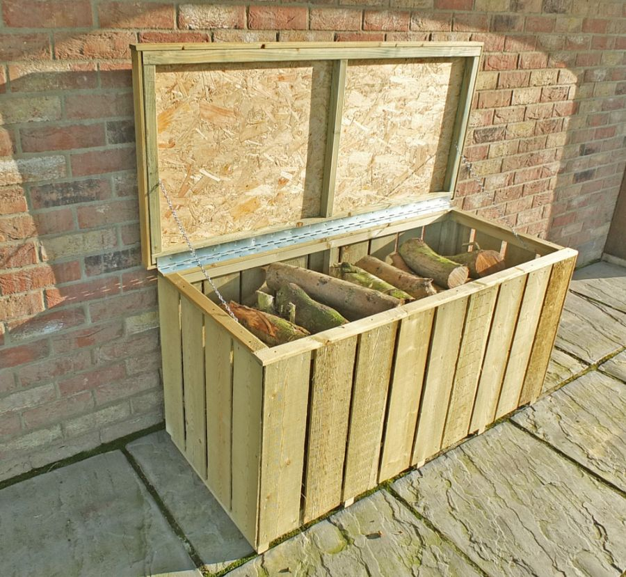 Pressure Treated Log Box Sawn