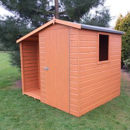 Shed & Log Store 7ft x 6ft