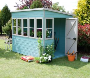 Sun Pent Shed 8ft x 6ft