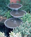 Galena Triple Cascade Water Feature - Slate
