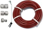 "15m Garden Hose Kit with ½"" Geka® Connectors and Soft Spray Watering Lance"
