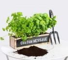 Personalised Herb Garden Windowsill Planter