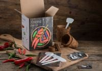 Xtreme Chilli - Grow Your Own Herb Garden Kit - 5 Exciting Chilli Varieties to Grow