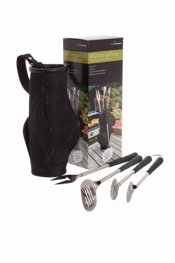 3 Piece BBQ Golf Bag Toolkit