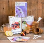Ultimate Grow Your Own Gift Kit Flowers, Berries & Tea Collection - 3 Packs Included