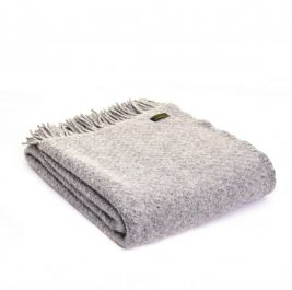 Lifestyle Wafer Throw - 150 x 183cms - Silver Grey