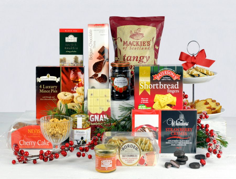 Gift Hamper For The Family At Christmas