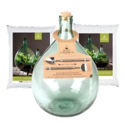 15L Medium Glass Terrarium Starter Kit