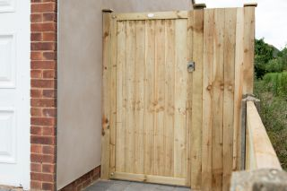 6ft Pressure Treated Featheredge Gate