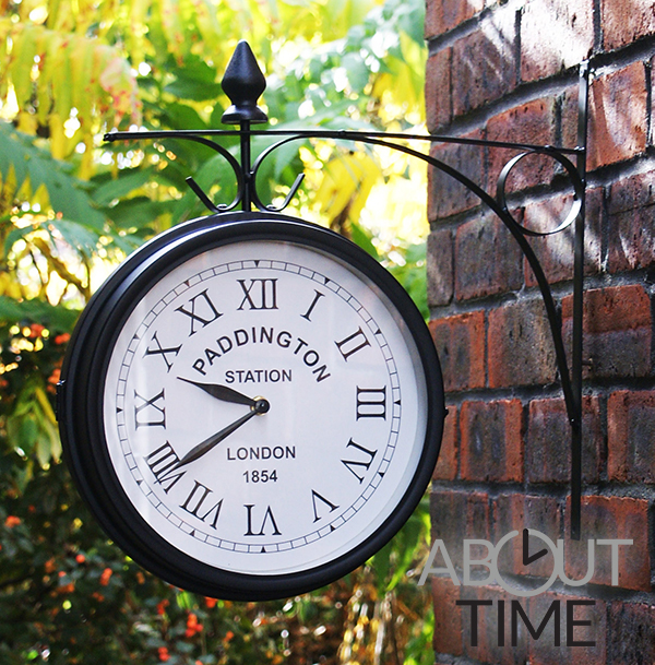 "Paddington Station 26cm (10.4"") Garden Wall Clock - by About Time™"