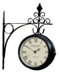 Kensington Station Garden Clock - 26cm