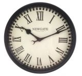 Notting Hill Gate Station Garden Clock - 32cm Diameter