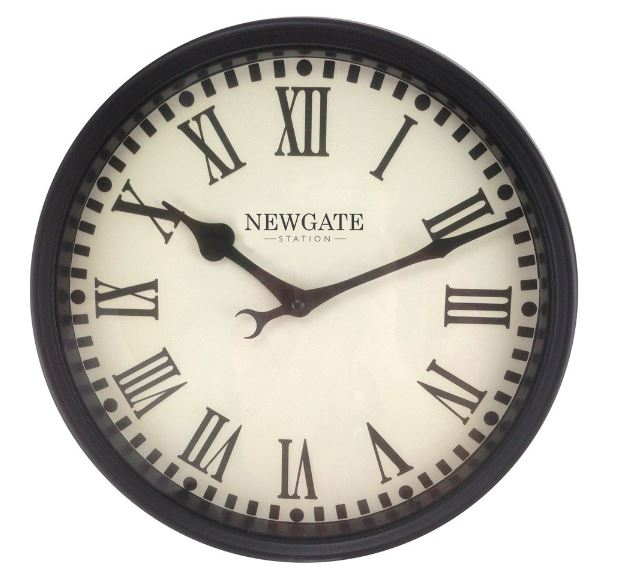 "Notting Hill Gate Station Garden Clock - 32cm (12.5"")"