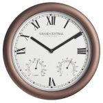 "Grand Central Station Garden Clock - 30cm (11.8"")"