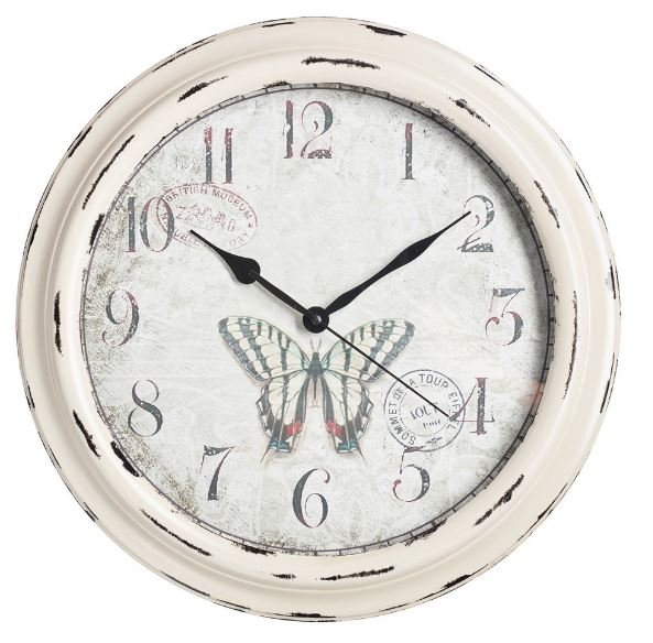 "Swallow Tail Garden Clock - 41cm (16"")"