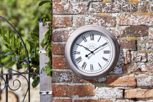 Smart Garden - Clock Biarritz Grey 12''