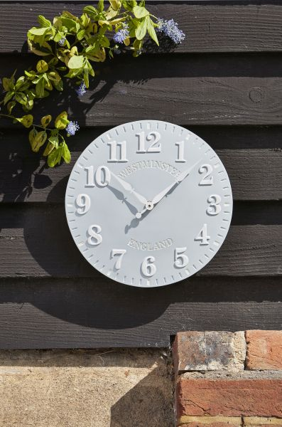 Smart Garden - Clock Westminster Duck Egg 12''