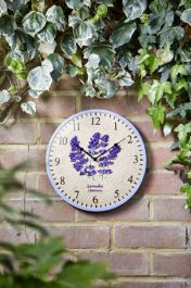 Smart Garden - Clock Lavender Wall Clock 12