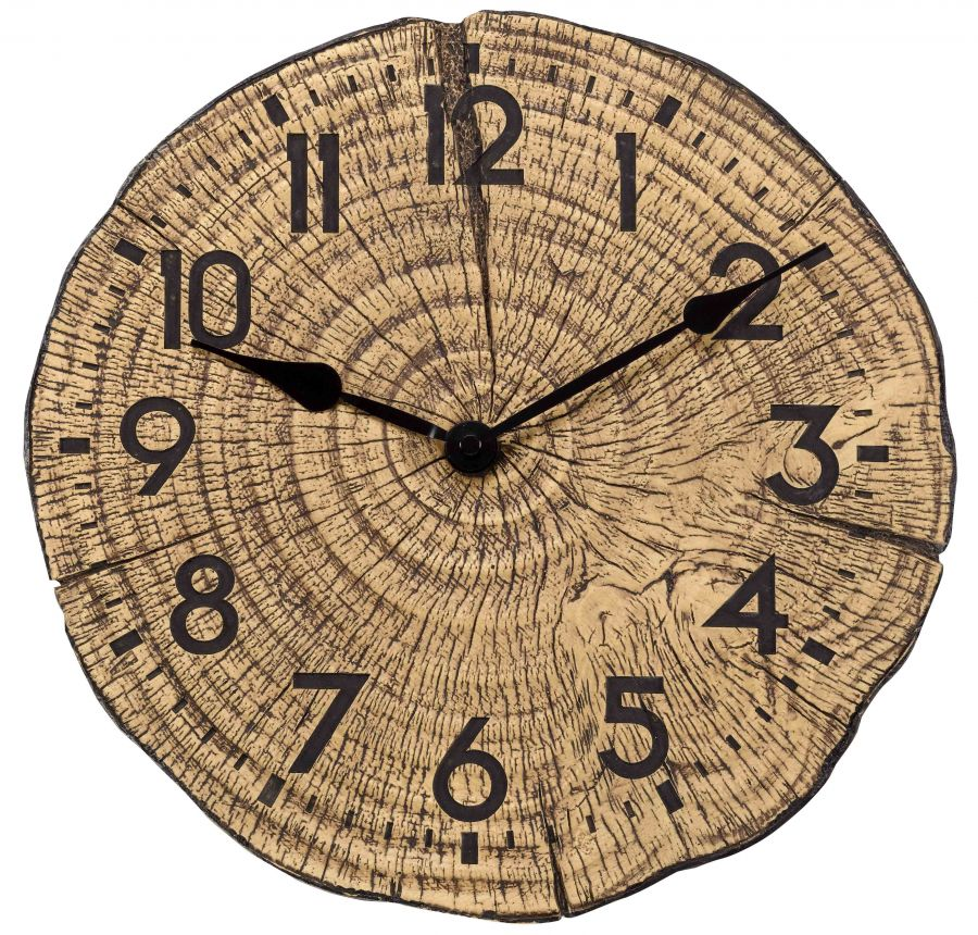 12in Tree Time Garden Wall Clock by Smart Garden
