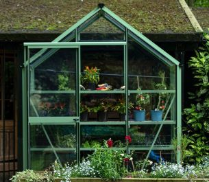 Evika™ 6x2 G1 Greenhouse in Pale Green
